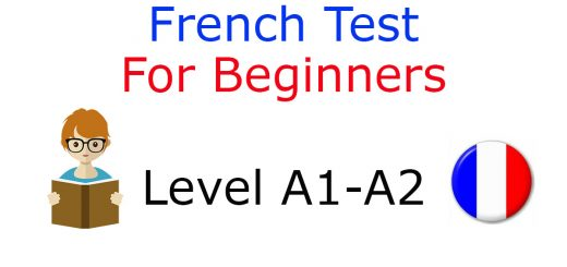 French Test Beginner