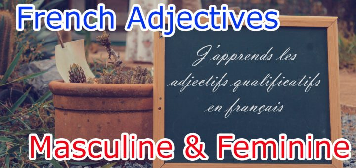 Gender rules of Qualifying Adjectives in French